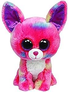 Ty - Ty36984 - Peluche - Beanie Boos - Grand - Duchess Chihuahua Rose - 23 Cm
