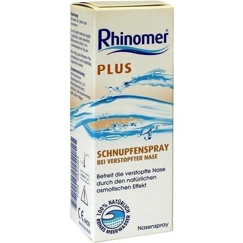 Rhinomer Nasenspray plus Schnupfenspray  im Test