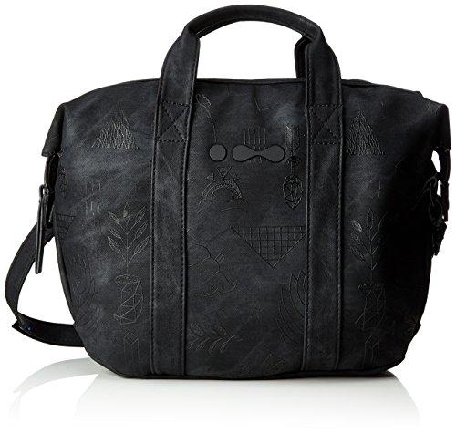 Skunkfunk Clara, Shopper para Mujer, Negro (Black), 5x30x40 cm (W x H x L)