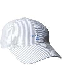 Gant O Oxford Banker Stripe Cap, Casquette de Baseball Femme