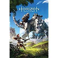 Grupo Erik Editores Horizon Zero Dawn Poster, Madera, Multicolor, 65 x 3.5 x 3.5 cm