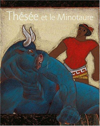 Thésée et le Minotaure par Nicolas Cauchy