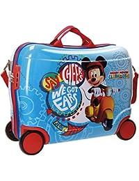 Disney Mickey Vespa Equipaje Infantil, 50 cm, 34 Litros, Multicolor