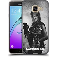Officiel AMC The Walking Dead Daryl Exposition Double Étui Coque en Gel molle pour Samsung Galaxy A3 (2016)