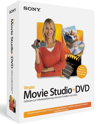 Sony Vegas Movie Studio +DVD 6 - 6 Sony Vegas