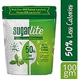 Sugarlite : 50% Less calories Sugar Pouch, 100 gm