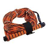 Homyl 1 Stück Orange Wakeboard Wasserski Seil Abschleppseil Boots-Wassersport Skifahren Wakeboarding Seil