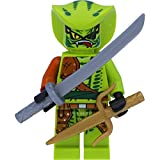 LEGO Ninjago Minifigur Lasha - Rebooted aus Set 10722 mit 2 GALAXYARMS Schwertern