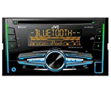 JVC KW-R920BT Autoradio con CD, Tecnologia Bluetooth Wireless e Front USB/AUX Input