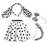 Girls, child Dalmatian Dog Skirt Costume Accessories Fancy - Best Reviews Guide