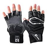 Cutters Force .5 Lineman Gloves, Black, Adult XX-Large