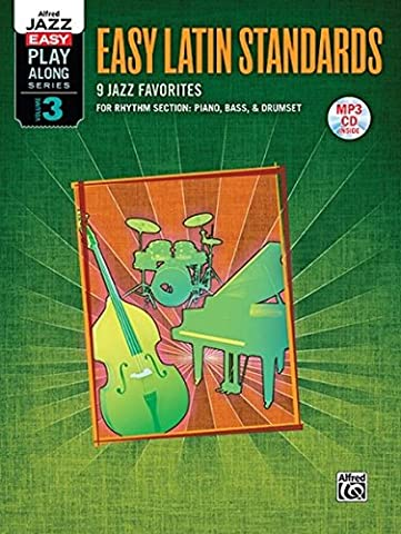 Alfred Jazz Easy Play-Along -- Latin, Vol 3: Rhythm Section