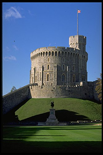 536067 Round Tower Windsor Castle England A4 Photo Poster Print 10x8 Round Tower Windsor Castle