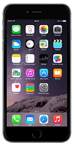 Image of Apple iPhone 6 Plus Smartphone (5,5 Zoll (14 cm) Touch-Display, 16 GB Speicher, iOS 8) grau