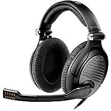 Sennheiser PC 350 Special Edition 2015 2x 3.5 mm Binaurale Diadema Negro auricular con micrófono - Auriculares con micrófono (PC/Juegos, Binaurale, Diadema, Negro, Dinámico, Alámbrico)