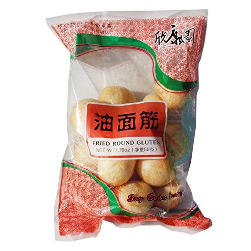Gluten Bälle frittiert für Hot Pot 50g typisch chinesisch