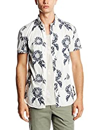 Jack & Jones Jorflower Shirt S/S, Chemise Casual Homme