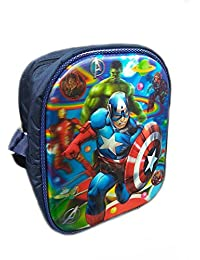 Imported 3D Embossed Design Cute Cartoon Printed Sling Bag For Kids Picnic/outdoor Adventure (AVENGER)
