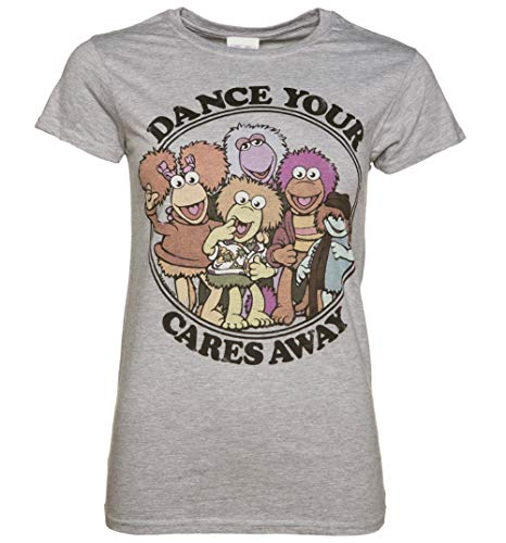 Dance Your Cares Away T Shirt Damen Die Fraggles