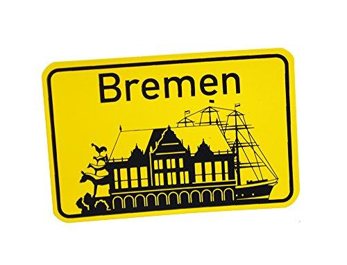 Preisvergleich Produktbild Stadtbummler 58039 Bremen Magnet Schiff