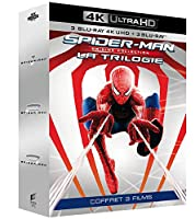 Trilogie Spider-Man : Spider-Man + Spider-Man 2 + Spider-Man 3 [4K Ultra HD + Blu-ray]