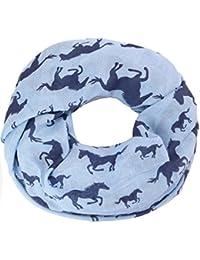 caripe leichter Damen Loop Schal Schlauchschal Pferde horse - caballo55