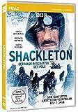 Shackleton - Der Mann im Schatten des Pols / Der komplette Abenteuer-Vierteiler um den Polarforscher (Pidax Historien-Klassiker) [2 DVDs]