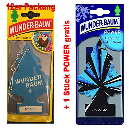 Wunderbaum Lufterfrischer Duftbaum Tropical Auto Haus und heim Tropical Tree (12)