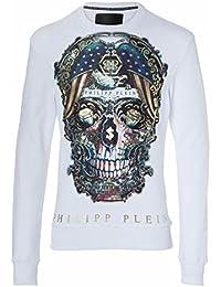 Philipp Plein - Sweat-Shirt - Manches Longues - Homme Blanc Blanc 93c831e169b