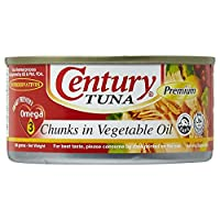 ‏‪Century Tuna Chunks In Vegetable Oil  - 184 gm‬‏