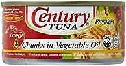 Century Tuna Chunks In Vegetable Oil  - 184 gm
