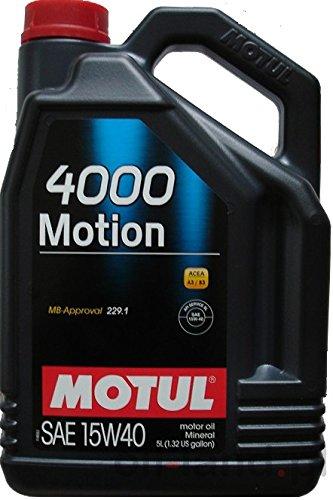 MOTUL 4000 MOTION 15W40 5LT BZ-DS ACEA