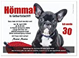 40 Geburtstagseinladungen runder Geburtstag lustig 50 60 70, für jedes Jahr möglich - mit Spruch, Größe DIN A5 - 148 x 210 mm