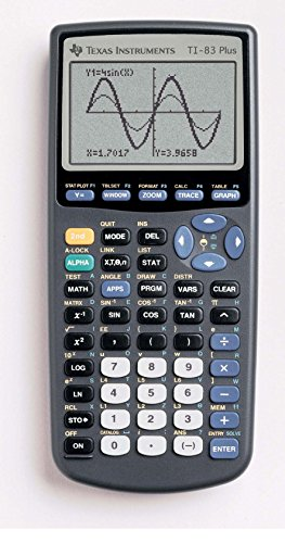For Sale Texas Instruments Graphic Calculator 184Kb TI83 Plus