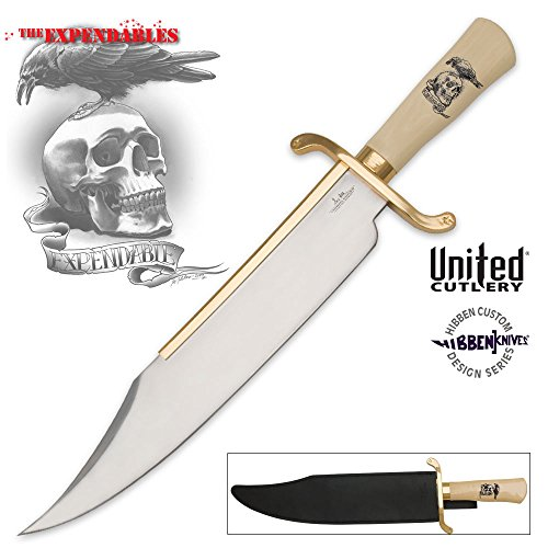 United Cutlery & Gil Hibben 'The Expendables' Mega 'Alamo' Bowie Messer *GIGANTISCHE...