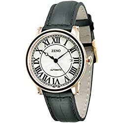 Zeno-Watch Damenuhr - Vintage Classic Roma Art Deco XL - 98209-Pgr-i2