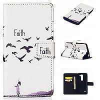 iGrelem® LG Spirit H422 Case Wallet [PU Leather] Flip Cover for LG Spirit H422 (Faith, White)