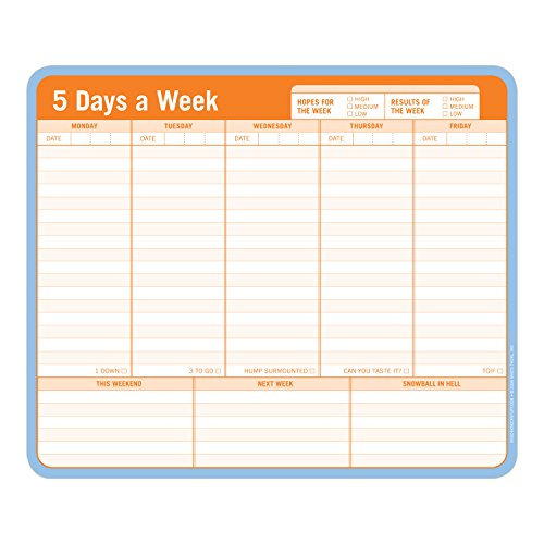 5 Days a Week: Mousepad