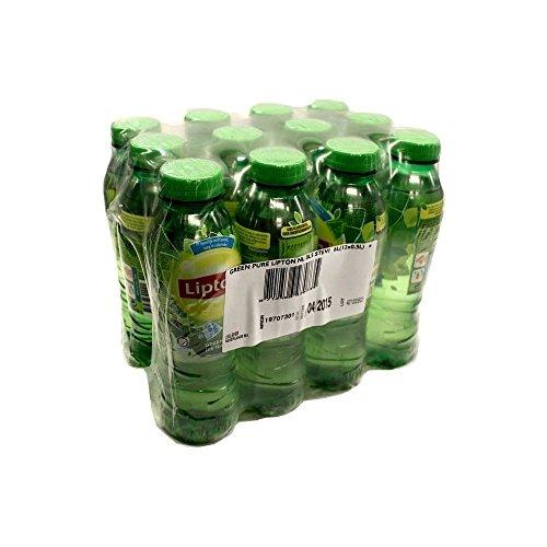 Grüner-tee-flasche (Lipton Ice Tea Green Tea 12 x 0,5l PET-Flasche (Eistee grüner Tee))