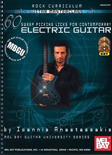 MBGU Rock Guitar Masterclass, Vol. 2: Noten, CD, DVD (Video) für Gitarre (Mel Bay Guitar University)