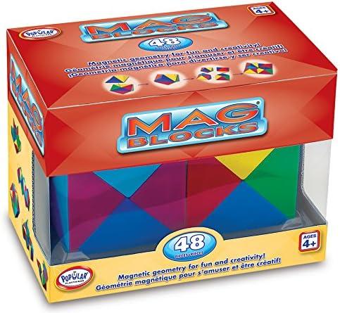 Popular Popular Popular Playthings populaires Jouets Mag-blocks Lot de 48 feuilles Ensemble de jeu | Un Approvisionnement Suffisant  7d8167