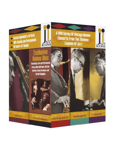 Jazz Icons - Vol. 2 (8 DVD Box inkl. exklusiver Bonus DVD) (Jazz-dvd-set)