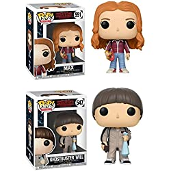 Funko POP! Stranger Things Season 2: Max + Will cazafantasmas