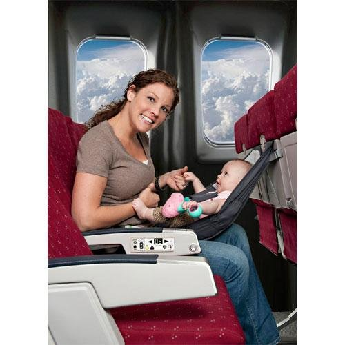 Infant Airplane Seat – Flyebaby Airplane Baby Comfort System – Air Travel with Baby Made Easy 51MDMoKDiVL