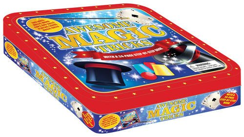 Awesome Magic Tricks (Kids' Hobby Tin) (Tricks Kids Für)
