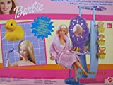 BARBIE BATH WORKS Playset w DUCK Powered SHOWER, Fun STAMPERS & More! (2000 Multi-Language Writing on Box) by Barbie