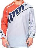 Thor Grau Orange 2016 Phase Vented Mx Trikot (Medium, Grau)