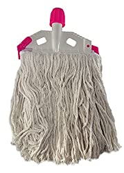 Multipurpose Cleaning Large Floor Mopping Easy 100% Cotton Mop Clip