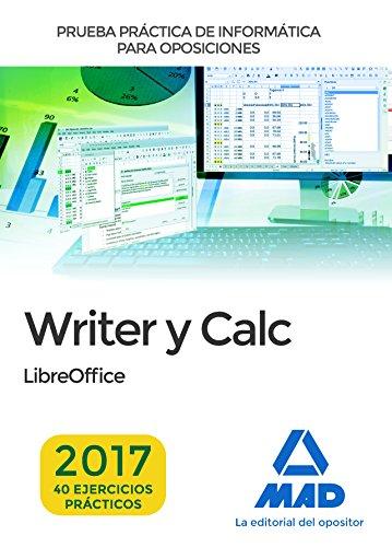Prueba práctica de Informática: Writer y Calc
