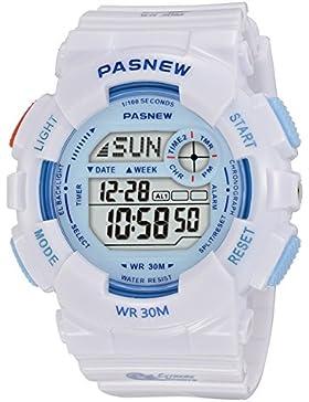 Children's watch multi-funktion bewegung countdown alarm electro wasserdicht running-B